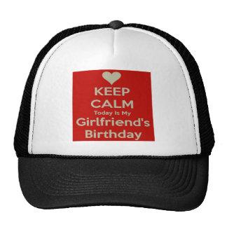 cumpleaños gorras