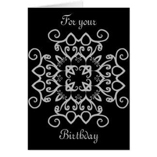 Cumpleaños gótico de lujo del victorian toda la oc