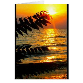 ¡Cumpleaños hermoso de la salida del sol a la Tarjeta De Felicitación