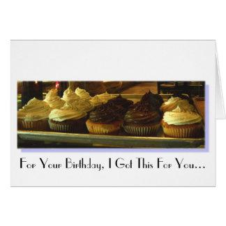 Cumpleaños - humor tarjeta de felicitación