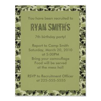 Cumpleaños Invitación 10,8 X 13,9 Cm