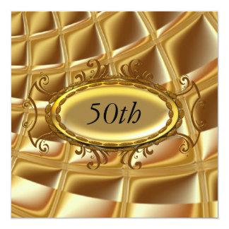 Cumpleaños Invitatio de los hombres o de las Invitación 13,3 Cm X 13,3cm