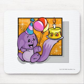 Cumpleaños Kacheek Alfombrilla De Ratón