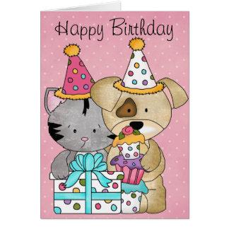 Cumpleaños lindo felicitacion