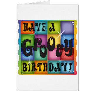 Cumpleaños maravilloso tarjeta de felicitación