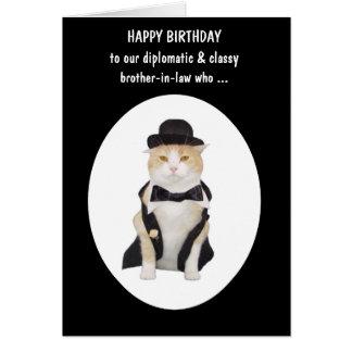 Cumpleaños masculino divertido de la persona del tarjeta de felicitación