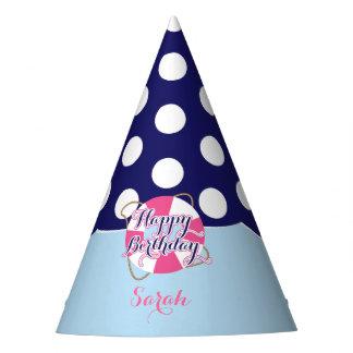 Cumpleaños náutico, fiesta gorro de fiesta