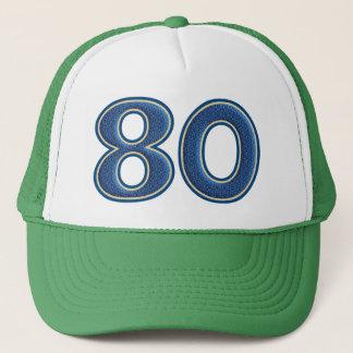 Cumpleaños número 80 gorra de camionero