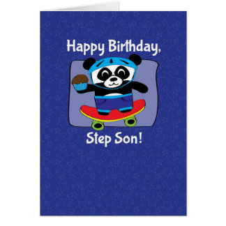 Cumpleaños para el hijo del paso - panda en el mon