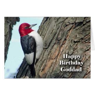 Cumpleaños para Goddad, pulsación de corriente Tarjeta De Felicitación