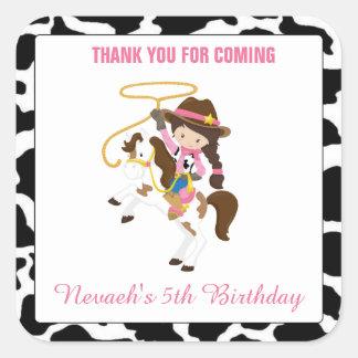 Cumpleaños personalizado del sello de los
