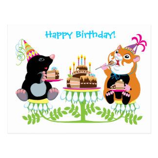 cumpleaños postal