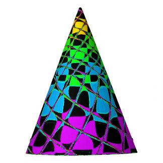 Cumpleaños precioso brillante colorido de la gorro de fiesta