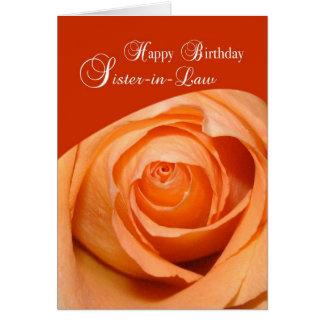 Cumpleaños religioso subió 3415 cuñadas tarjeta de felicitación