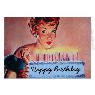 Tarjetas de felicitación para el cumpleaños de una mujer