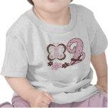Cumpleaños rosado de Butterf2nd Camisetas