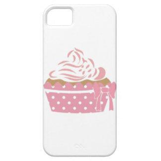 Cumpleaños rosado de la magdalena iPhone 5 cárcasas