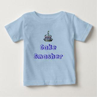cumpleaños-torta, Smasher de la torta Camisetas