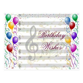 Cumpleaños Wishes_ Postal