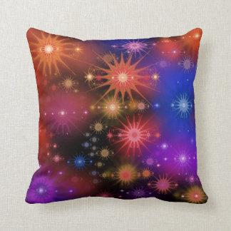 Cúmulos de estrellas cojín decorativo