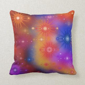 Cúmulos de estrellas de la nebulosa cojín decorativo