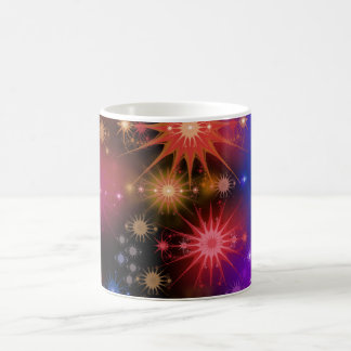 Cúmulos de estrellas taza de café