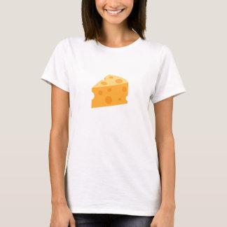 Cuña Emoji del queso Camiseta