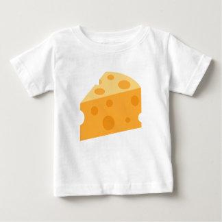 Cuña Emoji del queso Camiseta De Bebé