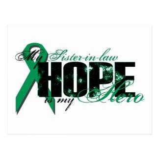 Cuñada mi héroe - esperanza del cáncer del riñón postal
