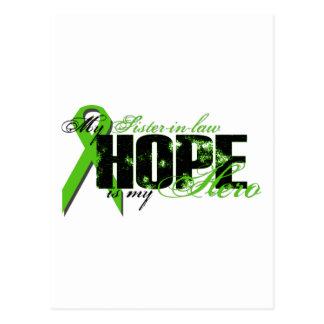 Cuñada mi héroe - esperanza del linfoma postal
