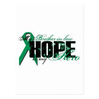 Cuñado mi héroe - esperanza del cáncer del riñón postal