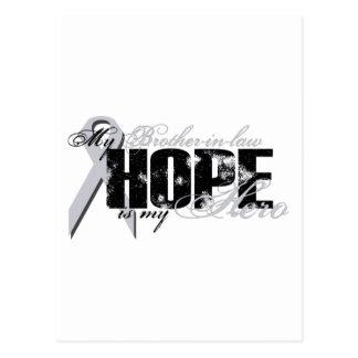 Cuñado mi héroe - esperanza del pulmón postal