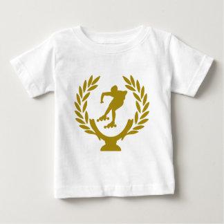 Cup-crown-roller-skating.png Camiseta De Bebé