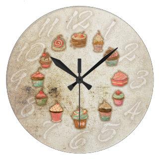 CupCakes Reloj Redondo Grande