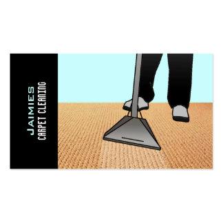 Cupón libre de la limpieza de la alfombra tarjetas de visita