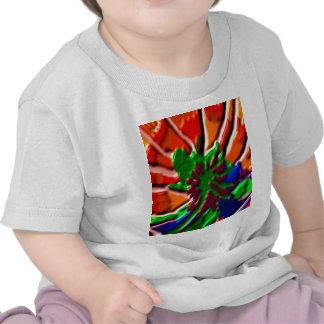 Cura del flower power   de Lotus Camiseta