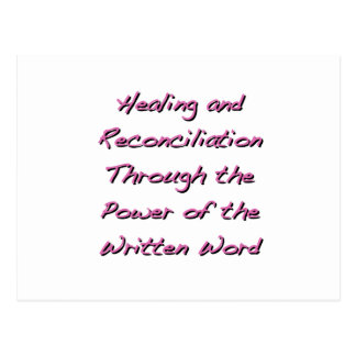 Cura y reconciliación postal