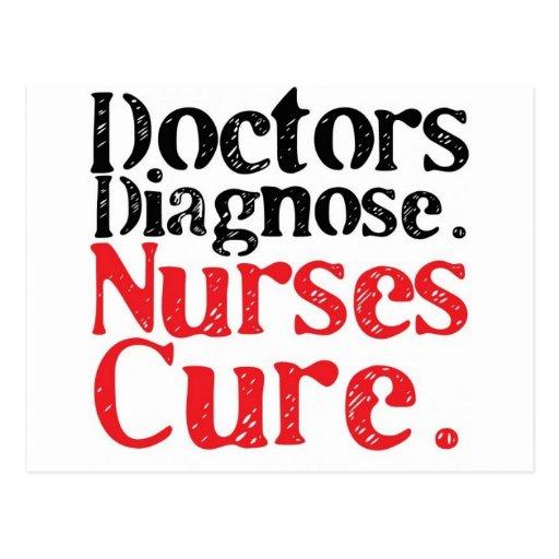 Curación de las enfermeras postal