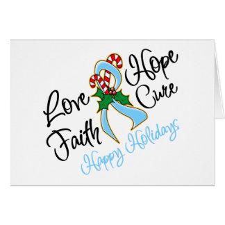 Curación del amor de la esperanza de la enfermedad tarjeta de felicitación