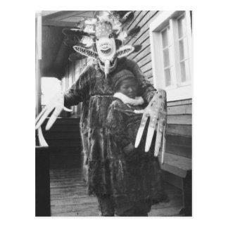 Curandero esquimal, 1900s tempranos postal