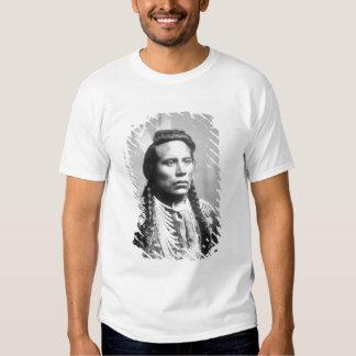 Curley, de la tribu del cuervo, uno de los camisas
