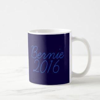 Cursive de Bernie 2016 Taza De Café