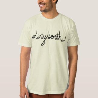 cursive del sur sucio camiseta
