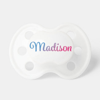 Cursive elegante de Madison Chupetes De Bebe