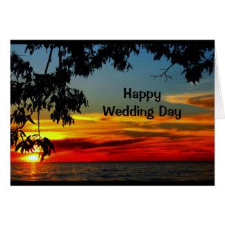 Curso de la vida de la invitación de boda hermosa