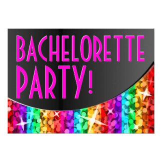 Curva Bachelorette Party de la raya del arco iris