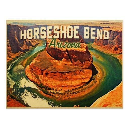 Curva de herradura Arizona Tarjetas Postales