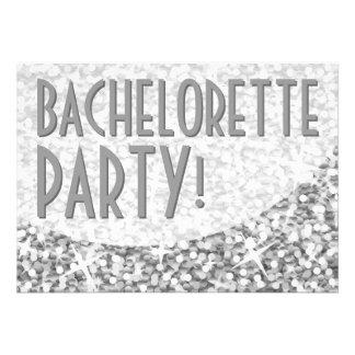 Curva de plata Bachelorette Party del Glitz