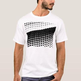 Curva del tono medio camiseta