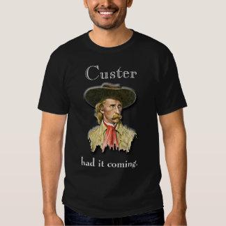 Custer… Camiseta